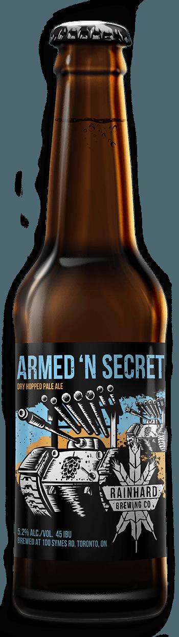 Image of Armed 'N Secret bottle