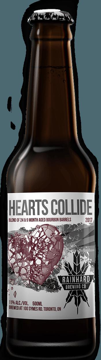 Image of Hearts Collide 2017 bottle