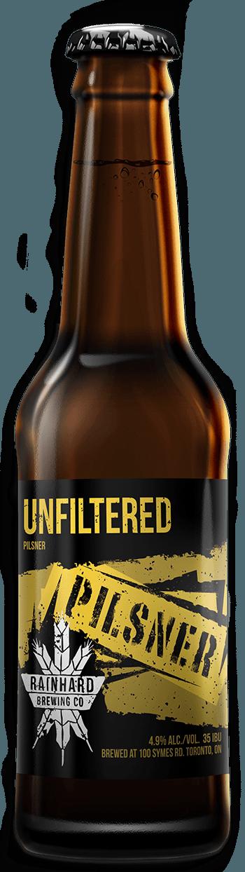 Image of Unfiltered Pilsner bottle