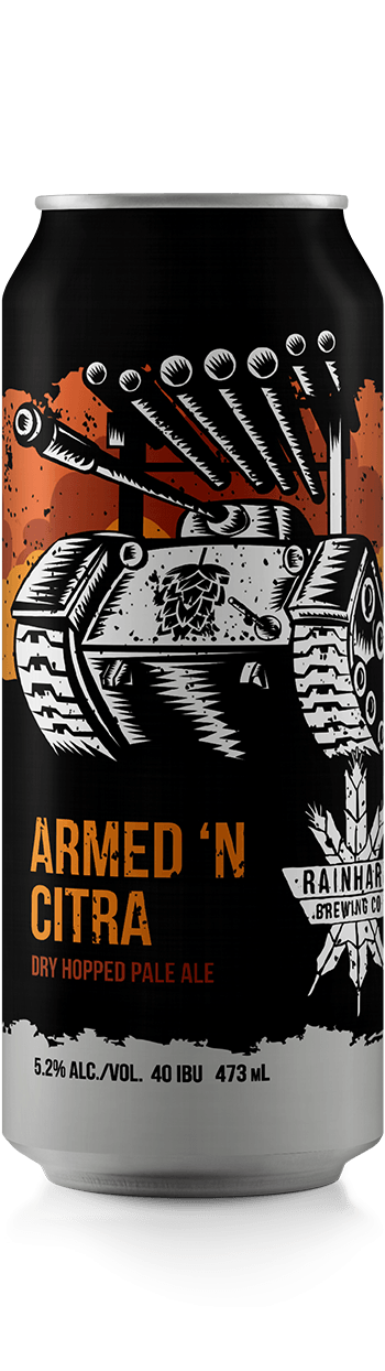 Image of Armed 'N Citra bottle