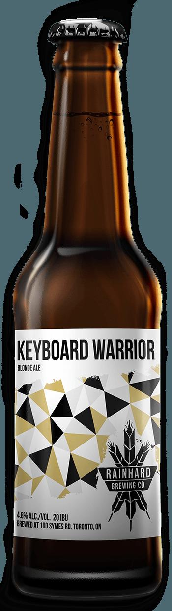 Image of Keyboard Warrior bottle