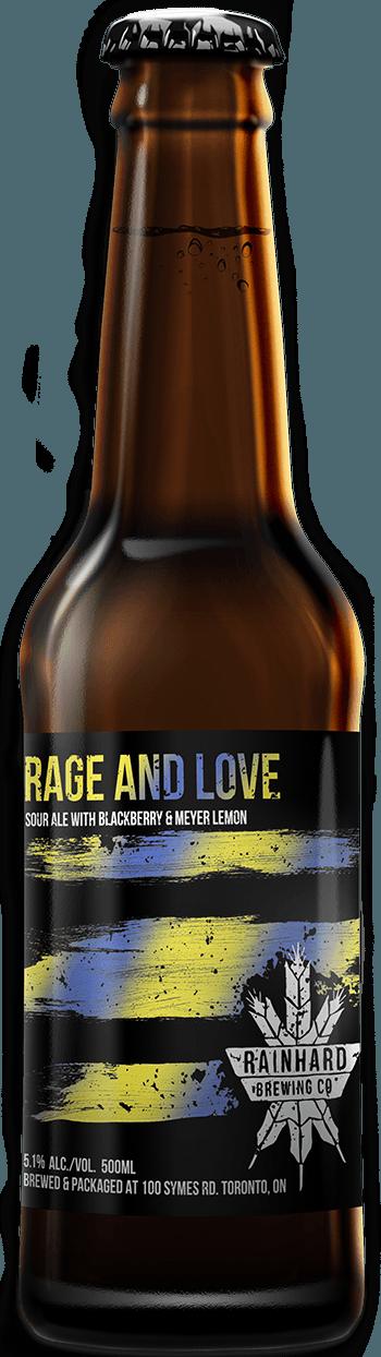 Image of RAGE AND LOVE (Blackberry + Meyer Lemon) bottle