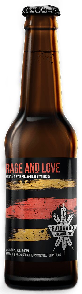 Image of Rage and Love (Passionfruit + Tangerine) bottle