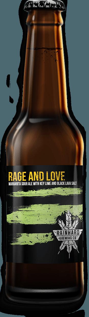 Image of Rage and Love (Key Lime + Black Lava Salt) bottle