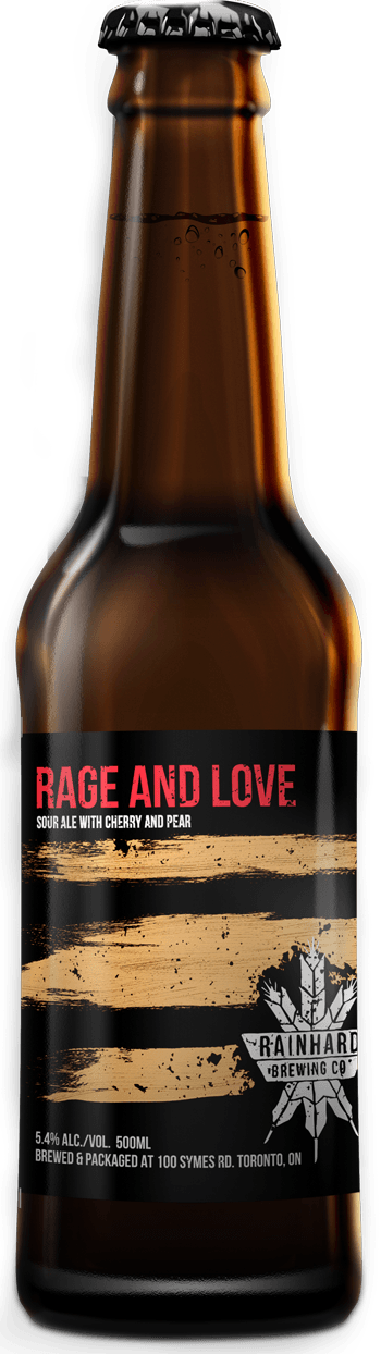 Image of Rage and love Pear + Cherry bottle