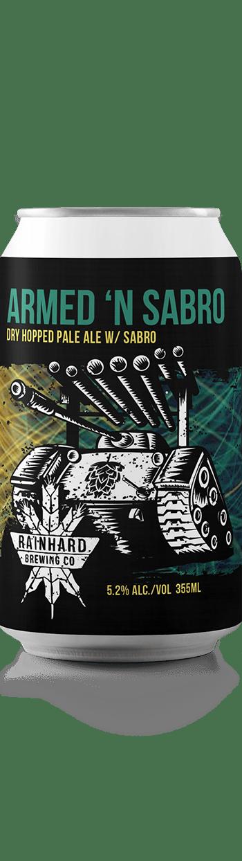 Image of ARMED 'N SABRO bottle