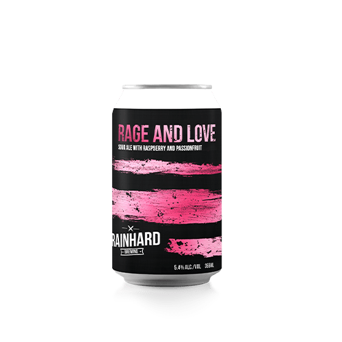 Picture of Rage & Love (Raspberry/Passionfruit) Bottle
